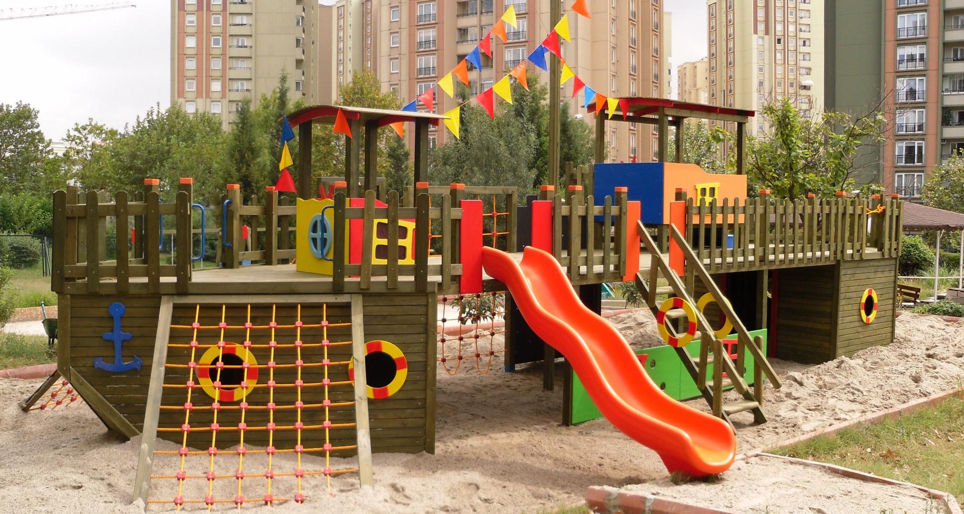 Özel Tasarım Oyun Parkları