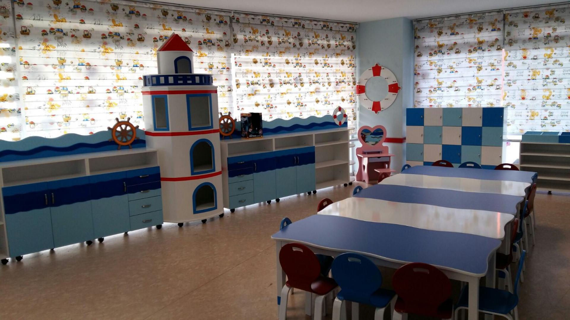 Renk Uyumlu Anaokulu Mobilyaları