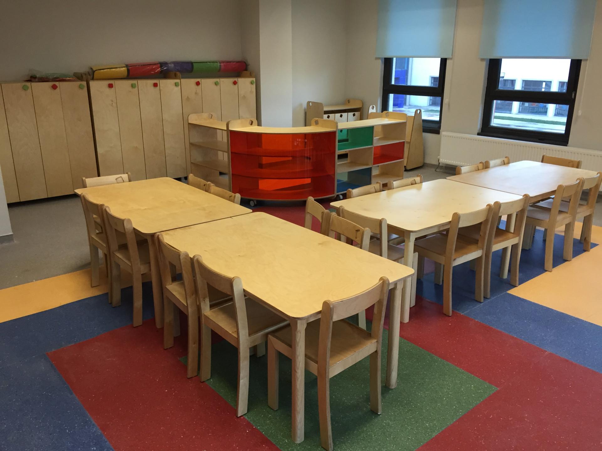 Ahşap Anaokulu Mobilyaları